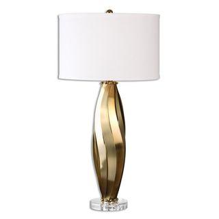 Volos 1-light Brass Table