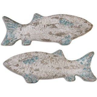 Old Fish Wall Art (Set of 2)