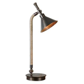 Uttermost Duvall Task Bronze Lamp