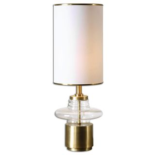 Palmyra Clear Glass Buffet Lamp