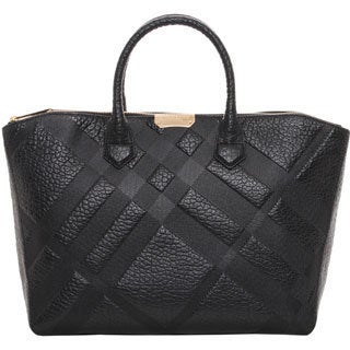 Burberry Medium Grain Check Dewsbury Tote
