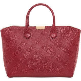 Burberry Medium Heritage Grain Check Dewsbury Tote