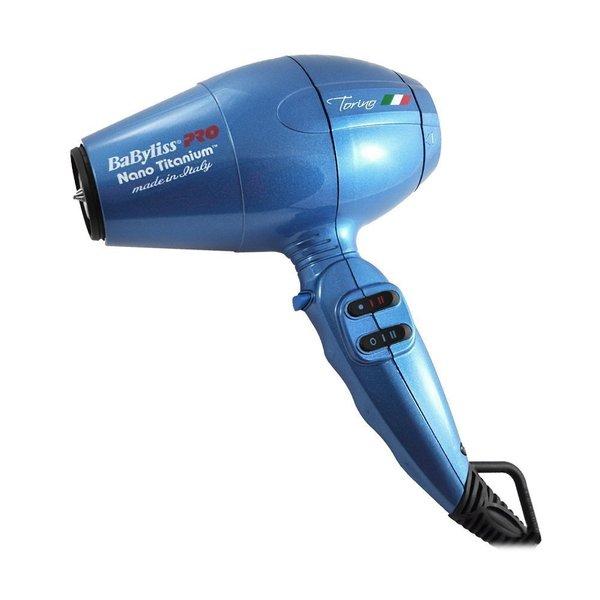 Babyliss Nano Titanium Torino 6100 Blue Hair Dryer