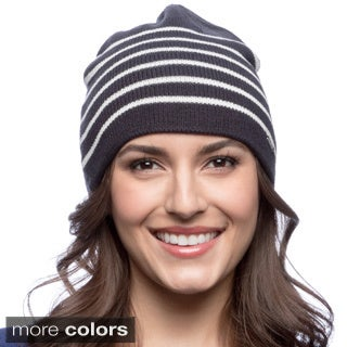 Nautica Women's Bi-color Knit Cap