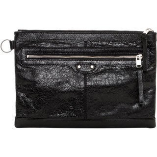 Balenciaga Clip M Leather Pouch