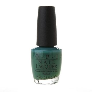 OPI Jade is the New Black Nail Polish