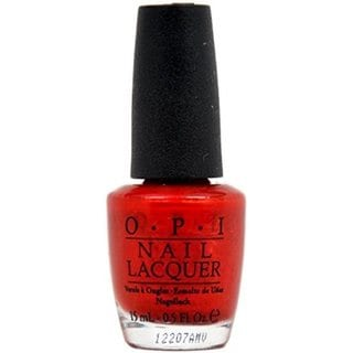 OPI Danke Shiny Red Nail Polish