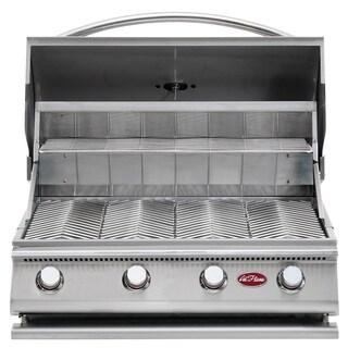 Cal Flame Gourmet Series Built-In 4-Burner Gas BBQ Grill