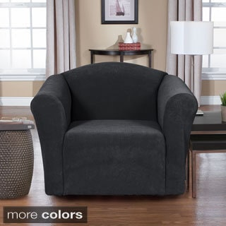 Dimples 1-piece Stretch Chair Slipcover