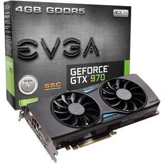 EVGA GeForce GTX 970 Graphic Card - 1.19 GHz Core - 1.34 GHz Boost Cl