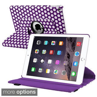 INSTEN Graffiti/ Polka Dot Design Pattern Folio Flip Leather Tablet Case Cover With Stand For Apple iPad Air 2