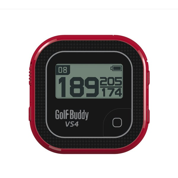 GolfBuddy VS4 Golf GPS Range Finder - Black/Red
