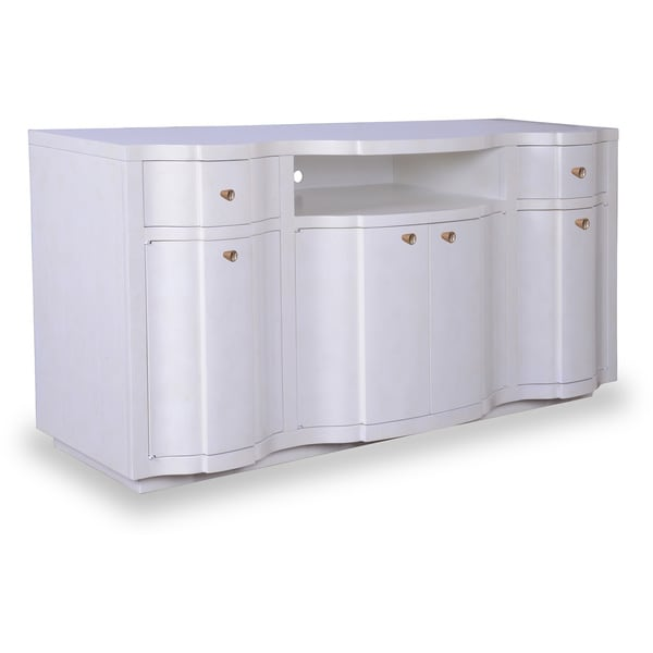 Cosmopolitan Parchment Entertainment Console