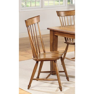 Summerhouse Golden Oak Dining Chairs (Set of 2)