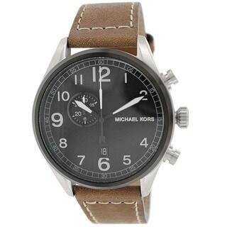 Michael Kors Men's MK7068 'Hangar' Stainless Steel Watch