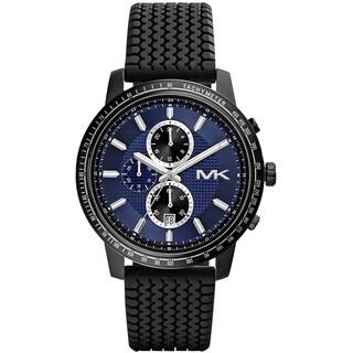 Michael Kors Men's 'Granger' Black Ion Plated Stainless Steel MK8364 Watch