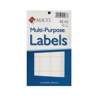 Maco Multi-Purpose Handwrite Labels (Pack of 6)