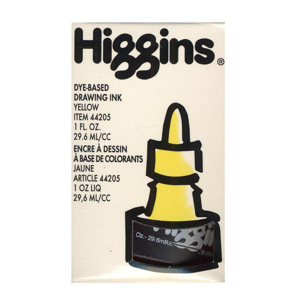 Higgins Color Drawing Inks (Pack of 4)