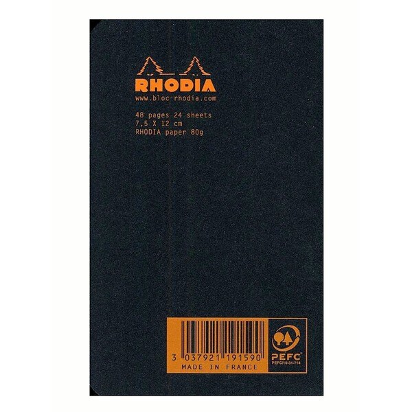 Rhodia Staplebound Notebooks