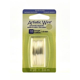 Artistic Wire Tarnish Resistant Silver Dispenser Packs (Pack of 3)