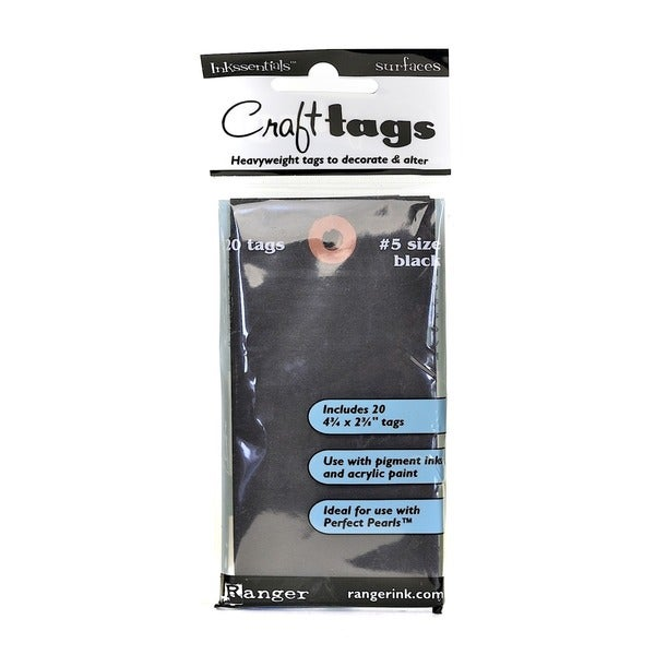 Ranger Inkssentials 20 Craft Tags (Set of 4)
