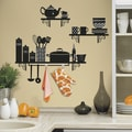 Build a Kitchen Shelf Peel and Stick Giant Wall Decals