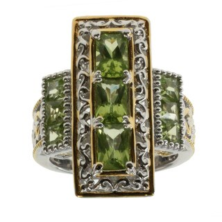Michael Valitutti Peridot Ring