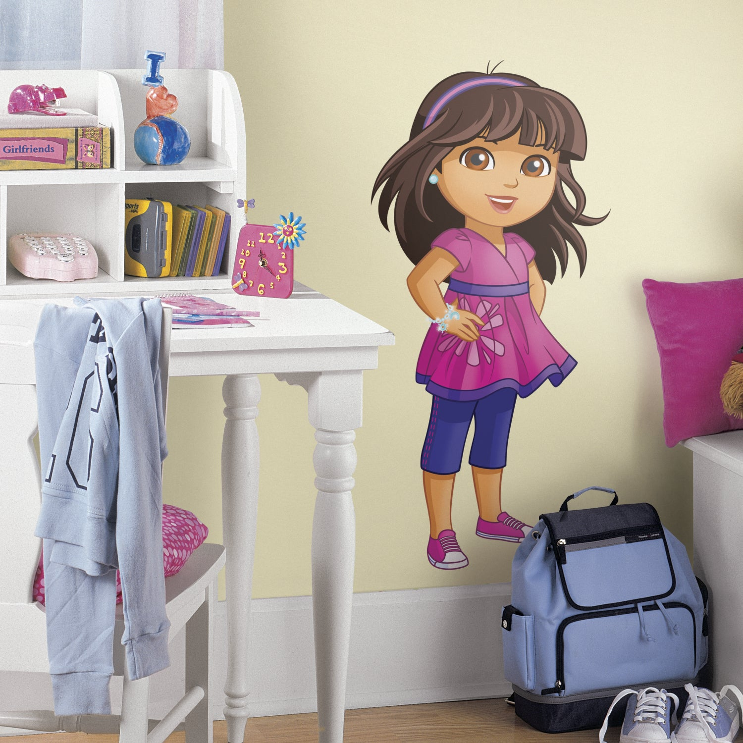 RoomMates Dora and Friends Peel and Stick Giant Wall Decals at Sears.com