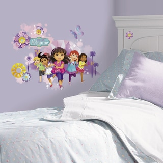 Dora and Friends Peel and Stick Wall Graphix Giant Wall Decals