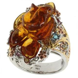 Michael Valitutti Amber 'Rose' Ring