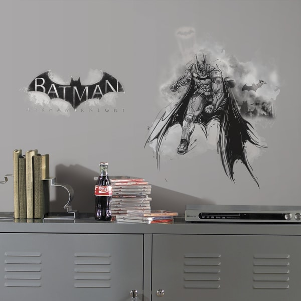Batman Arkham Knight Darkness Wall Graphix Peel