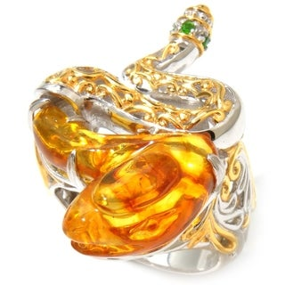 Michael Valitutti Amber 'Snake' Ring