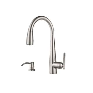 Pfister Lita Pull-down Kitchen Faucet Stainless