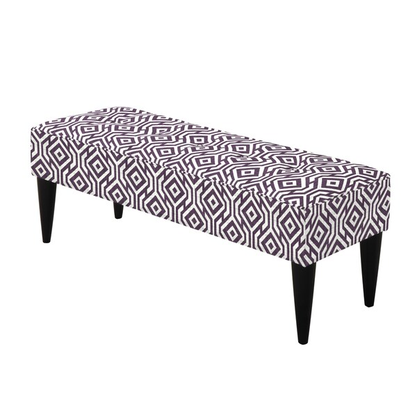 angelo:HOME Brighton Hill Lorin Square Lavender Field Large Bench