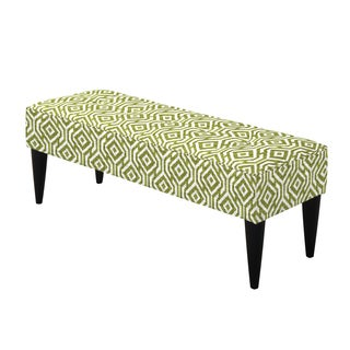 angelo:HOME Brighton Hill Lorin Square Mossy Green Large Bench
