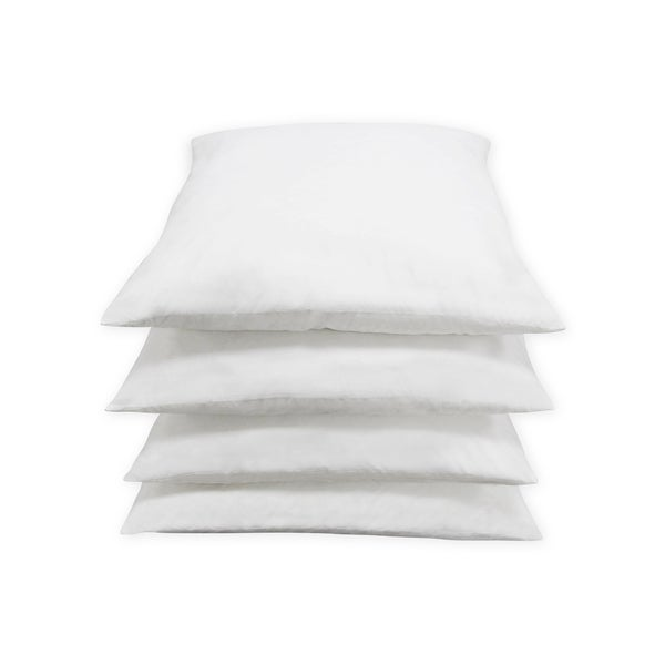 Feather Square Pillow Insert (Set of 4)
