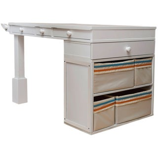 The Jack and Jill Desk by Original Scrapbox (White or Turquoise)