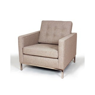 The Draper Upholstered Lounge Chair