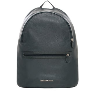 Emporio Armani Grainy Leather Backpack