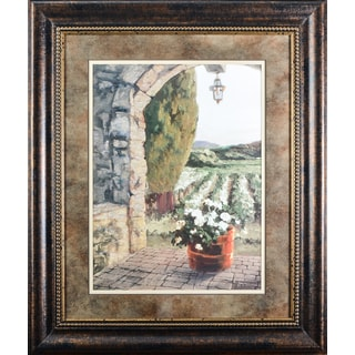 'Provence Portico' by Erin DertnerFramed Art Print