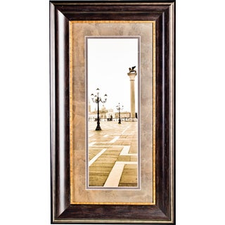 'Piazza San Marcos No. 2' by Photographer Alan BlausteinFramed Art Print