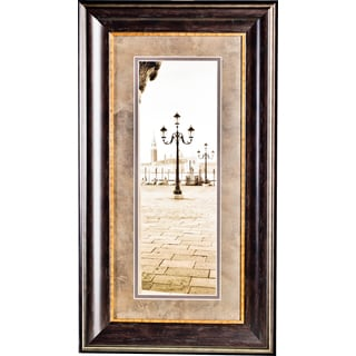 'Piazza San Marcos No. 1' by Photographer Alan BlausteinFramed Art Print