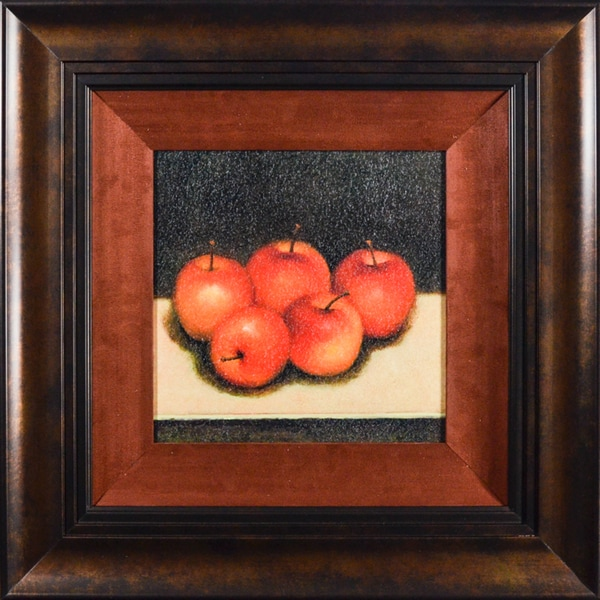 'Gala Apples' by Bill CreevyFramed Art Print