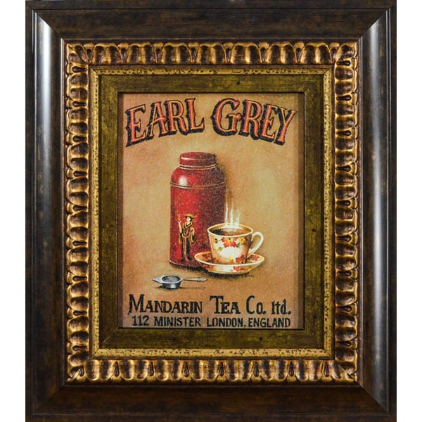 'Earl Grey' by Gregory Gorham Framed Art Print