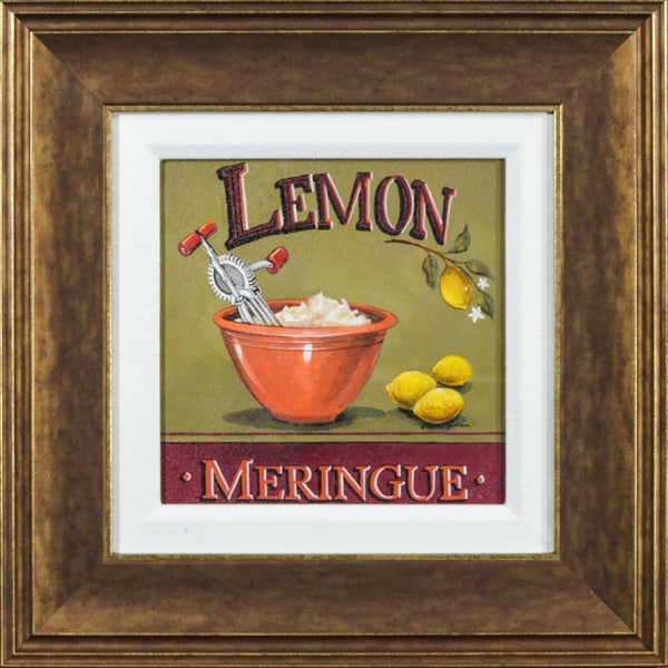 Lemon Meringue' by Gregory Gorham Framed Art Print