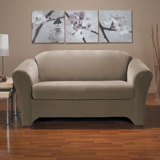 Eastwood 2-piece Stretch Loveseat Slipcover