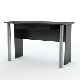 City Life Black Wooden Desk