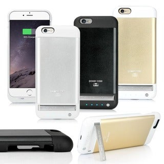 Gearonic 3800mAh Aluminium Power Bank Case Cover For iPhone 6 4.7""