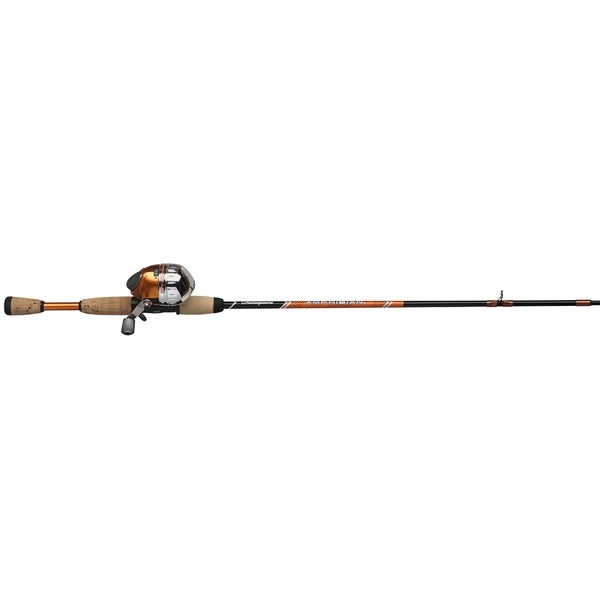 Amphibian Spincast Orange Youth Fishing Combo