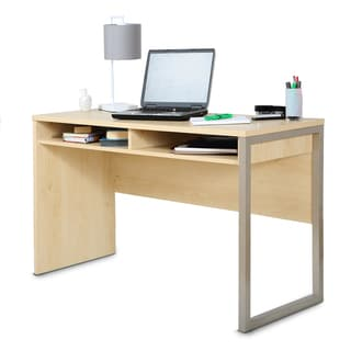 Interface Wooden Natural Maple Desk